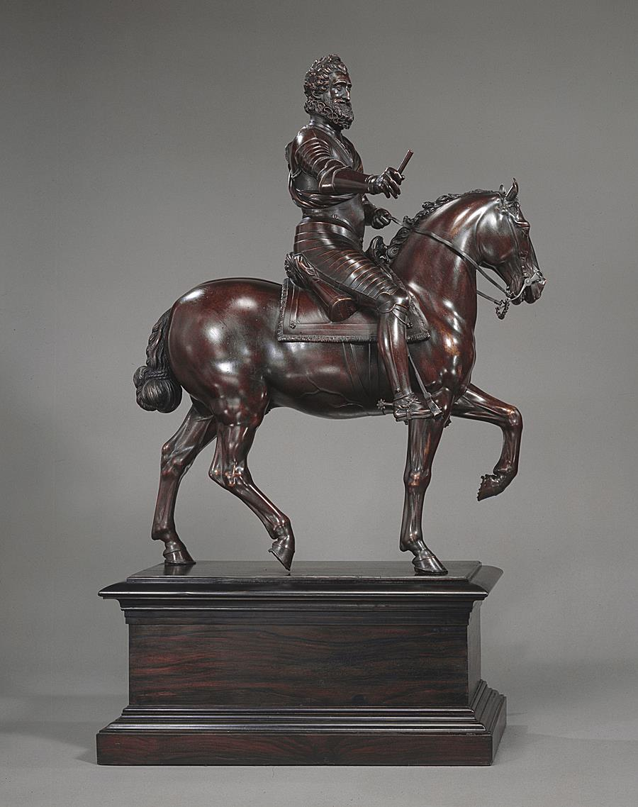 Henri IV on horseback