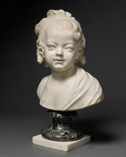 Portrait of Constance-Félicité-Victoire-Désirée Vassé aged 3, daughter of the artist