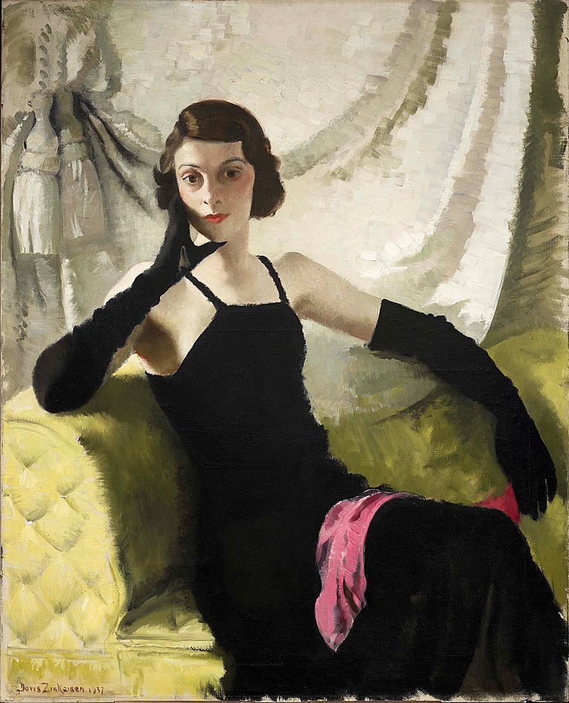 Portrait of Miss Sanders Watney
