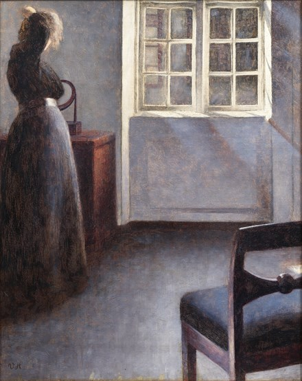 Woman before a mirror, Strandgade 30