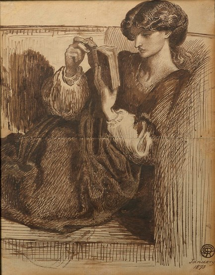 Portrait of Jane Morris