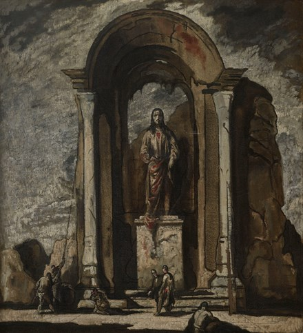 The Shrine (formerly The Demolition of the Statue and the Arch)