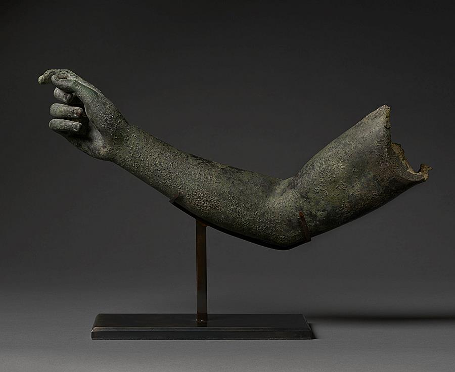 Arm probably from a statue of Diana