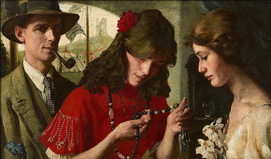 The Fortune Teller's Beads