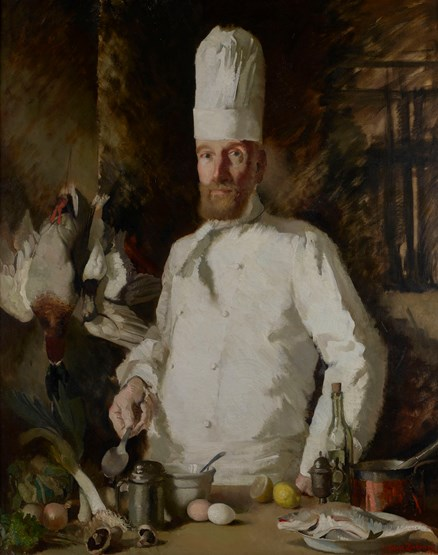 Emile Aymoz, Chef at the Dorchester, 1938