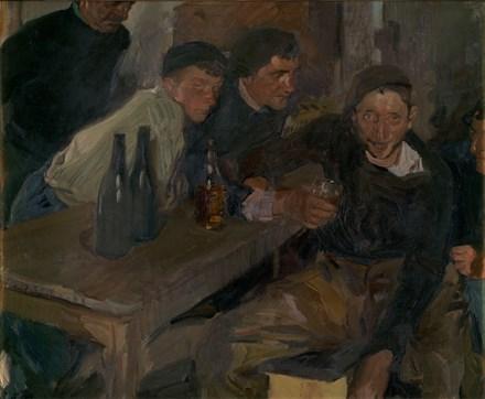 El borracho, Zarauz