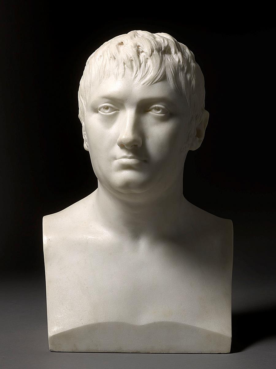 Herm bust of Maréchal Jean-de-Dieu Soult, Duke of Dalmatia (1769-1851)